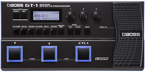 BOSS GT-1 Multi-effects Pedal