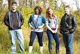 Zepp Family Band: Noah, Bailey, Rebekah, Shaun