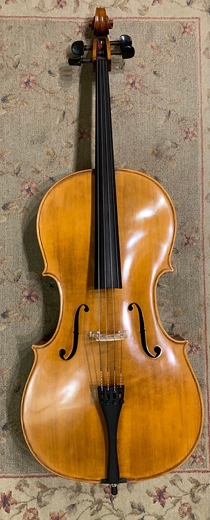 Samuel Shen 4/4 Cello (2015) with Hardshell Case and Bow