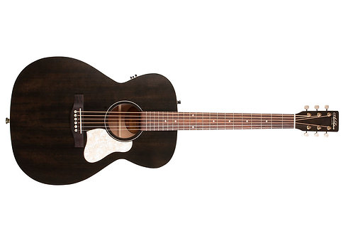 Art & Lutherie Legacy QIT Acoustic Electric Guitar: Faded Black