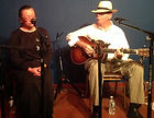 Mike and Paula perform together - sometimes as a duo, sometimes with friends