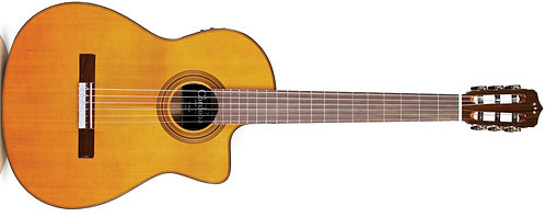 Cordoba Fusion 12 Natural CD Nylon A/E Crossover Guitar