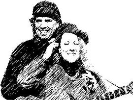 L-R: Eric and Maggie Gernerd