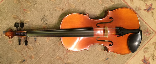 "Amati 100 15.5"" Viola Outfit (one piece back)"