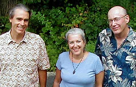 L-R: Ernie Morrell, JoAnn Morrell, Mike Flemming (not shown: Henry Patterson, Don Consul)