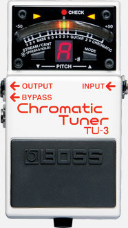 BOSS TU-3 Chromatic Floor Tuner