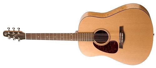 Seagull S6 Original Dread Acoustic Guitar - Left