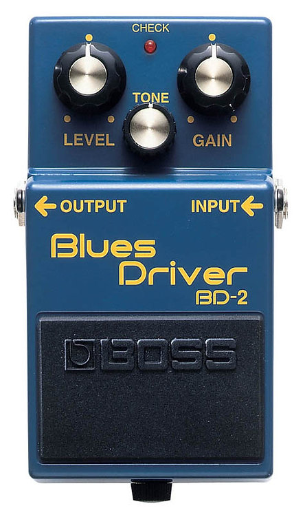 BOSS BD-2 Blues Driver Overdrive Distortion Pedal