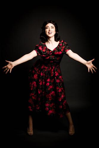 Portraying Eva Peron in EVITA!