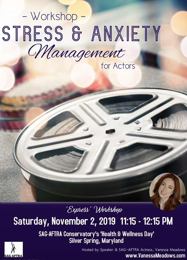 Living Actor Workshop- Stress & Anx Mgt