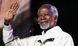 Kofi Annan | Genève| Faustin Luanga