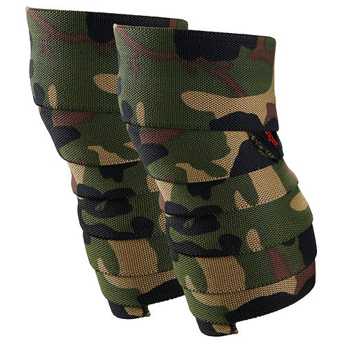 "Harbinger | Red Line Knee Wraps - 78"" - Camo"