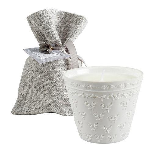 Bougie parfumée Palazzo Bello 170 g - Fleur de Coton