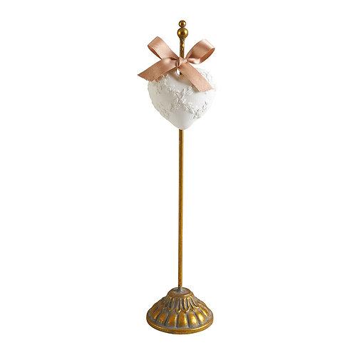 Présentoir doré pour décor parfumé - Petit modèle