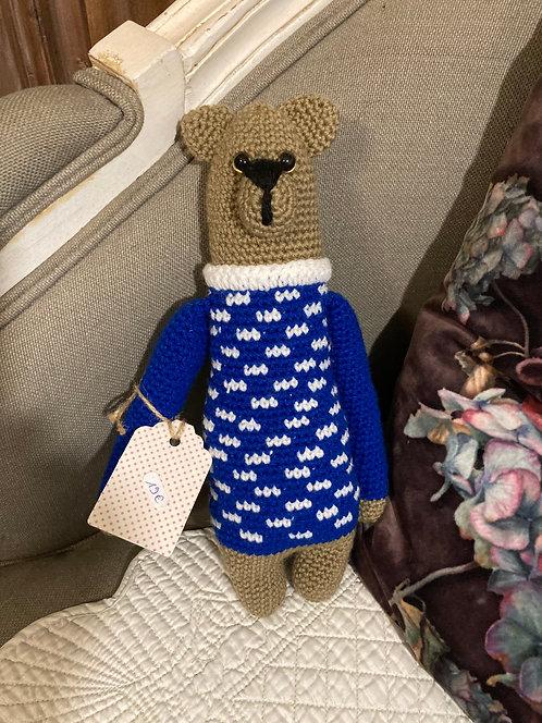 Ours Jean-jean au crochet
