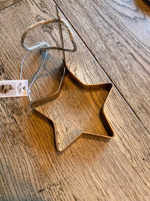 Emporte pièce laiton forme étoile