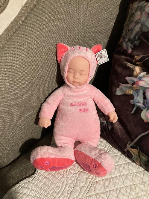 Bébé chat rose tout doux