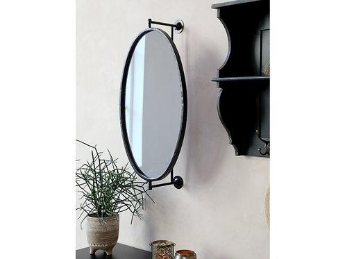 Miroir mural noir