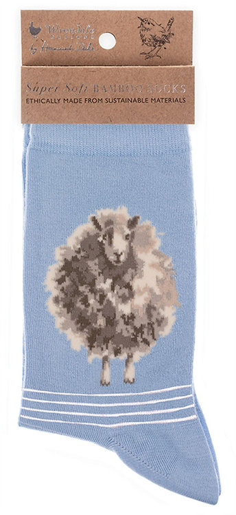 Chaussettes en bambou mouton