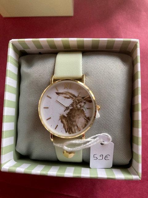 Superbe montre illustrée
