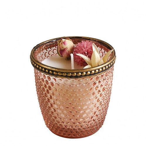 Bougie parfumée Herbier Précieux 125 g - Rose Élixir