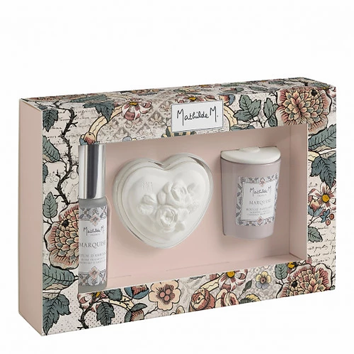 Coffret parfumé romantique Jardins de Fantaisies - Marquise
