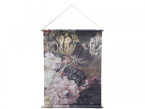 Toile à suspendre avec imprimé floral