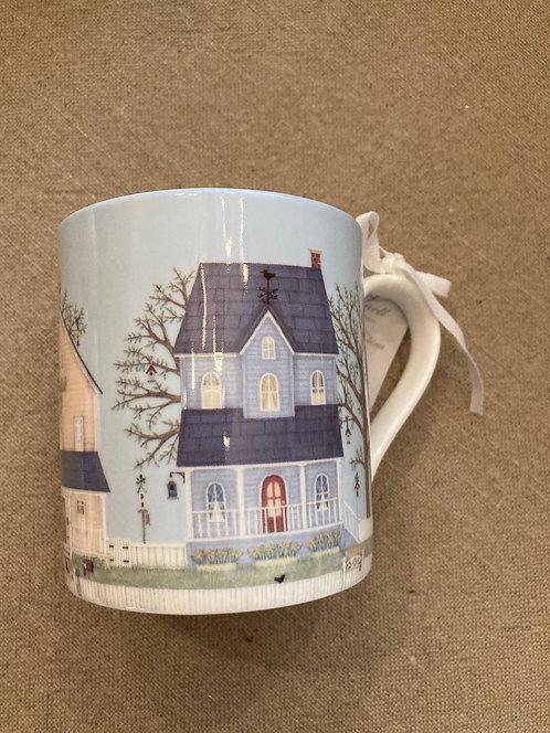 Superbe mug en porcelaine