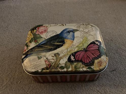 Boite oiseau vintage