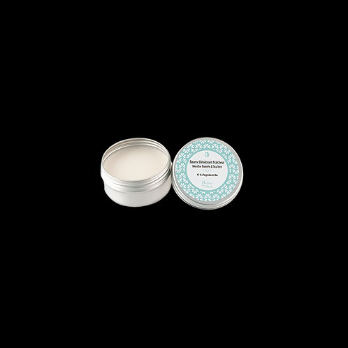 Baume déodorant fraicheur 50ml en boîte alu