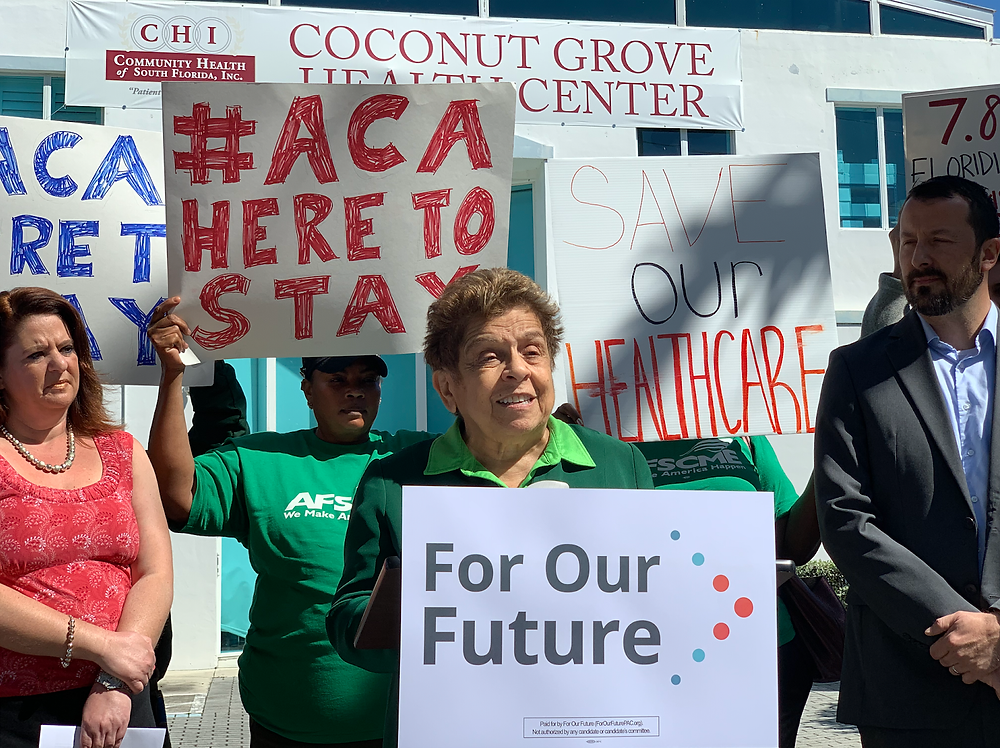 This press conference at the Coconut Grove Health Center in Miami was hosted by For our Future, Florida Voices for Health, the Florida Health Justice Project, Epilepsy Florida, and Community Health of South Florida, Inc on March 22, 2019.