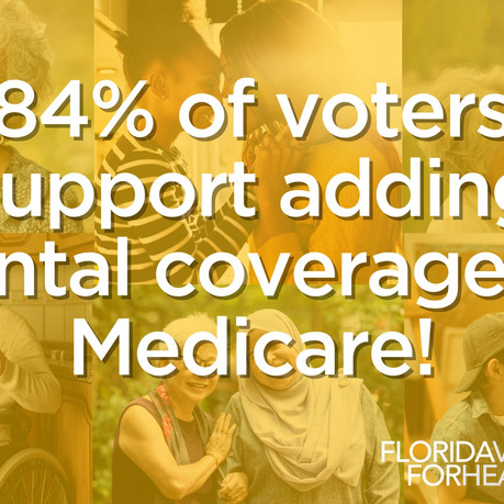 Now Is the Time to Add Oral Health Coverage to Medicare.