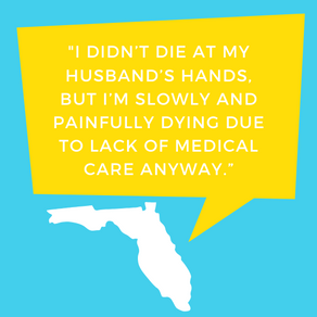 DV Survivor Fights for Care for Her and Other Floridians