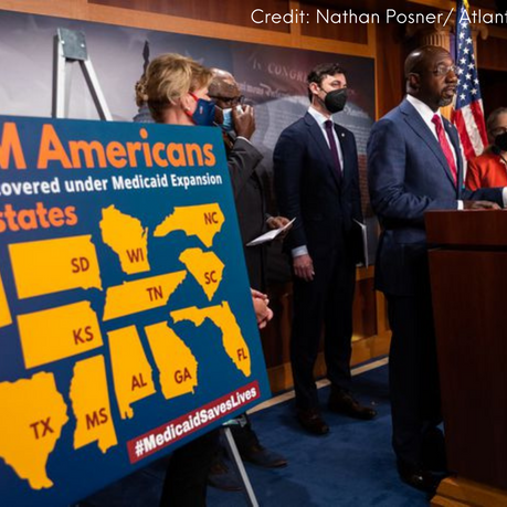 Critical Time for Medicaid Expansion and Health Care in Congress.