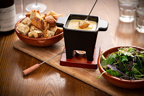 Cheese fondue for 2