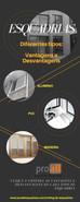 Diferentes tipos de esquadrias, vantagens e desvantagens