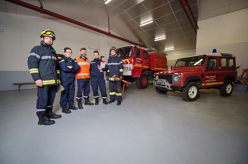 Jérôme Brouat: Chef d'une équipe des Pompiers de Tournon d'Agenais: