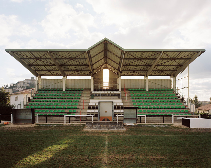Le stade et le club de rugby de Tournon