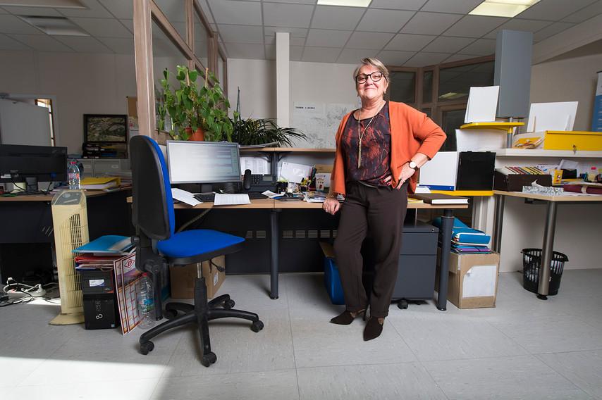 Geneviève Soubiès: Secrétaire de Mairie