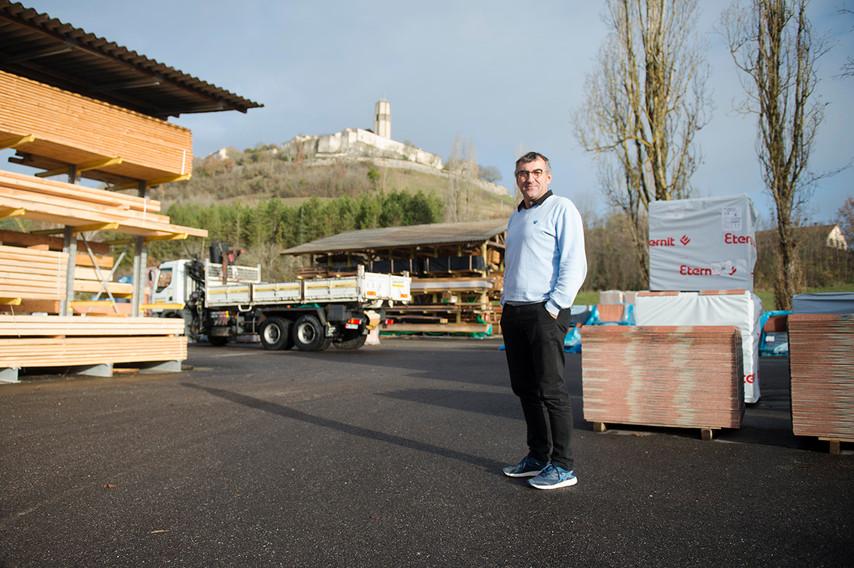 Jean-Luc Rigal: Commercial en matériaux de construction