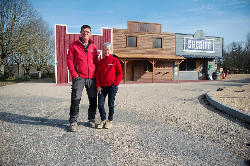 Pascale Laurendeau et Patrick Nouelle: Directeurs du camping « Ullule »