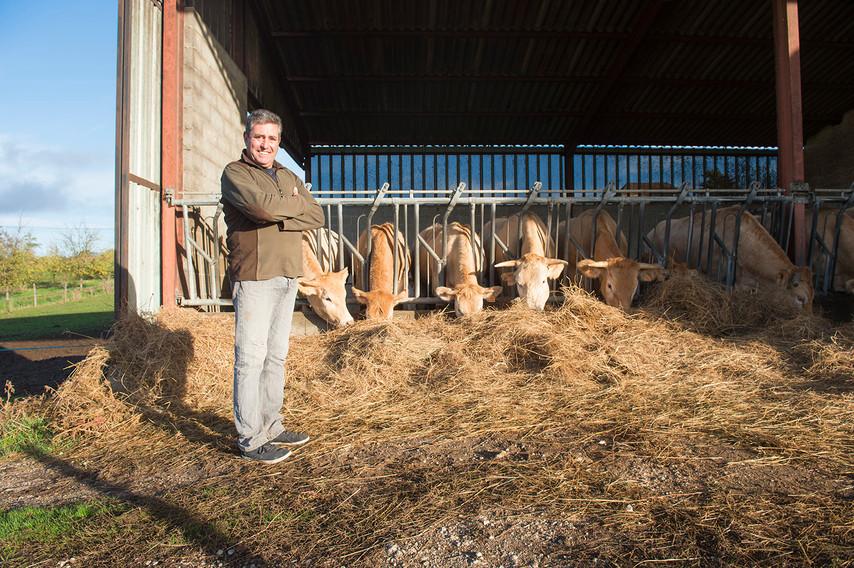 Patrick Longuesserre: Eleveur de vaches - Agriculteur - Pruniculteur