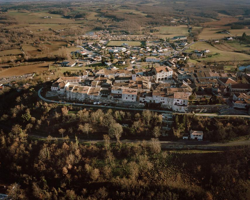 La bastide de Tournon d'Agenais
