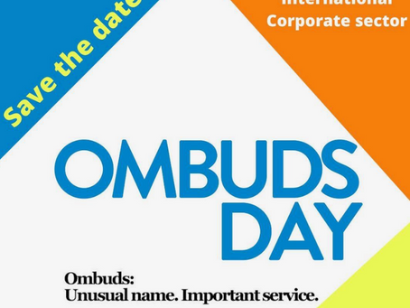 International Corporate-sector Ombuds Day 2020.