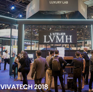 Smartzer shoppable video and LVMH at Vivatech 2018