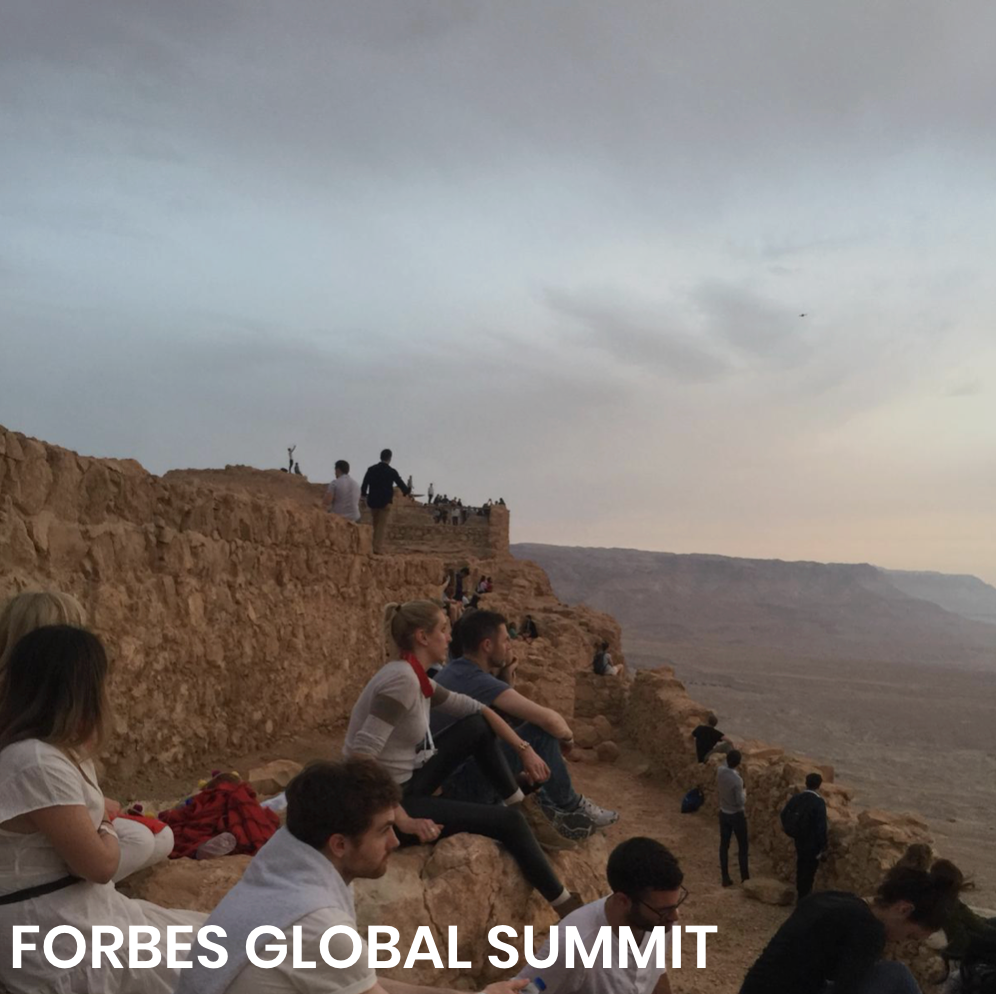 Masada Sunrise at Forbes Under 30 Global Summit