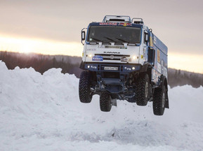 CEC Moscow Partner-Siberian Alliance Group, Signs Technical Cooperation Agreement with KAMAZ Truck