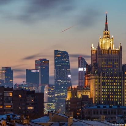 MOSKAU: 19.10.21 – UNTERNEHMERTAG RUSSLAND