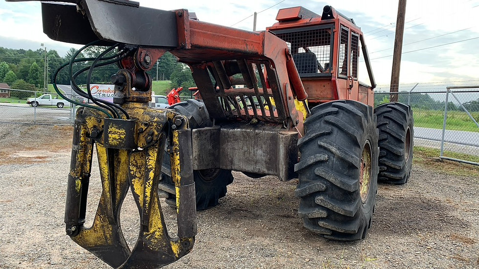 380 Timberjack Grapple Skidder