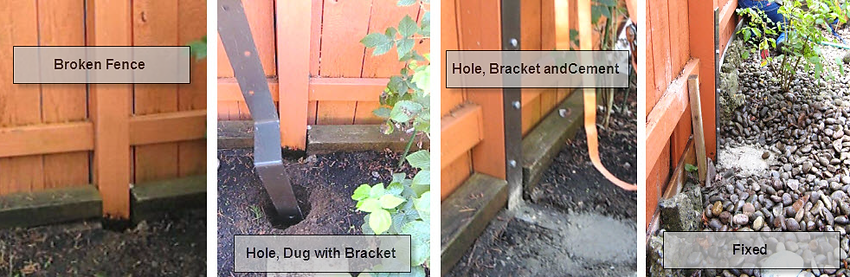Backyard Fence Repair Audidatlevante Com